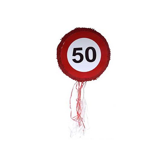 Leeftijd feestartikelen AlleKleurenShirts Abraham pinata 50 jaar