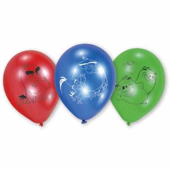 Angry Birds feest ballonnen 6 stuks