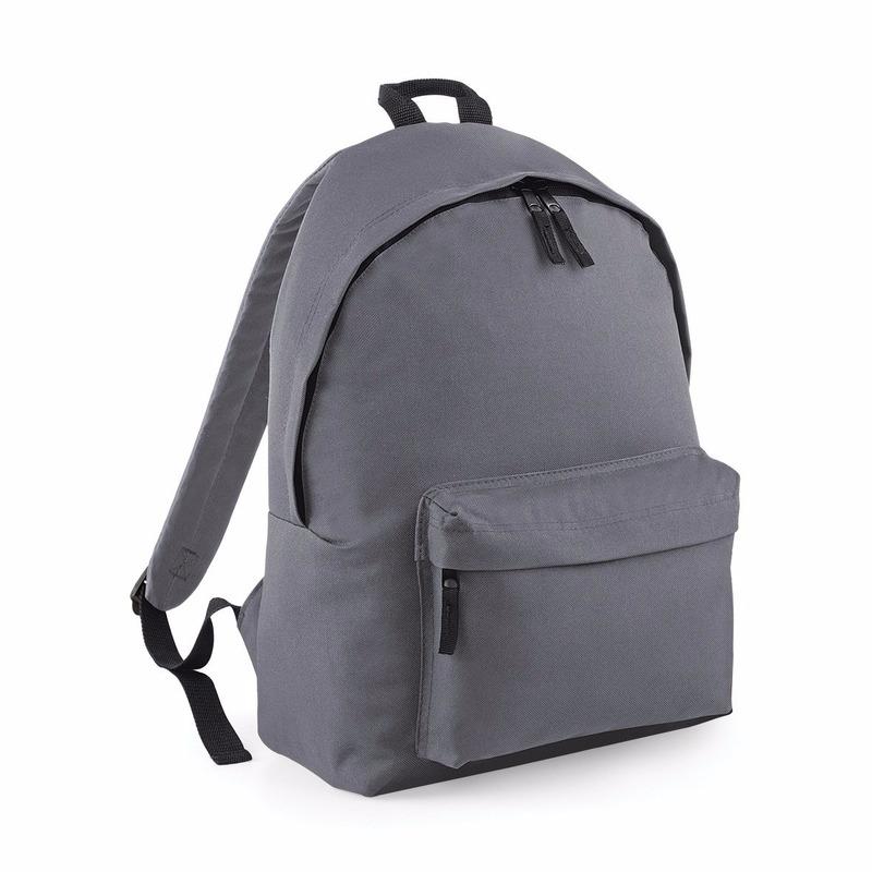 Tassen Antraciet rugtas reistas met voorvak 18 liter voor volwassenen