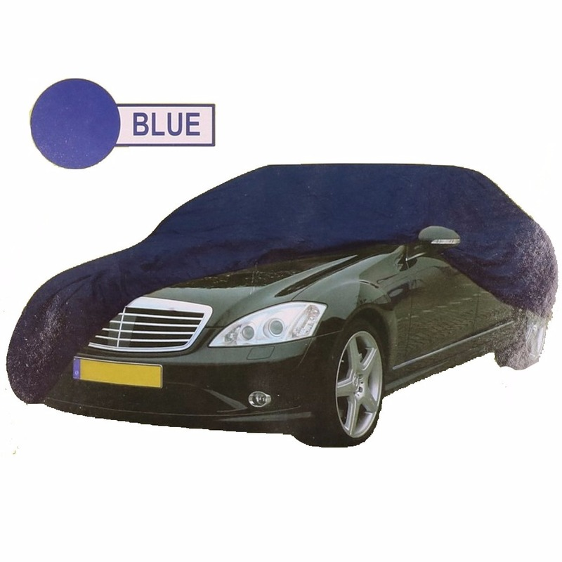 Blauwe auto beschermingshoes XL 534 x 178 x 120 cm