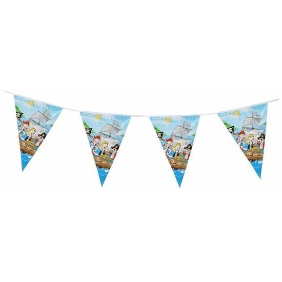 Kinderfeestjes Blauwe feest slinger piraten thema 3 m
