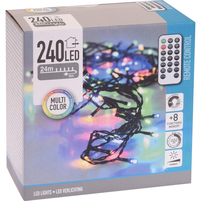 Boomverlichting met afstandsbediening kleur 240 lampjes