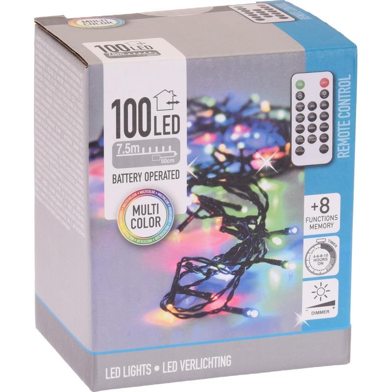 Boomverlichting op afstandsbediening kleur 100 lampjes