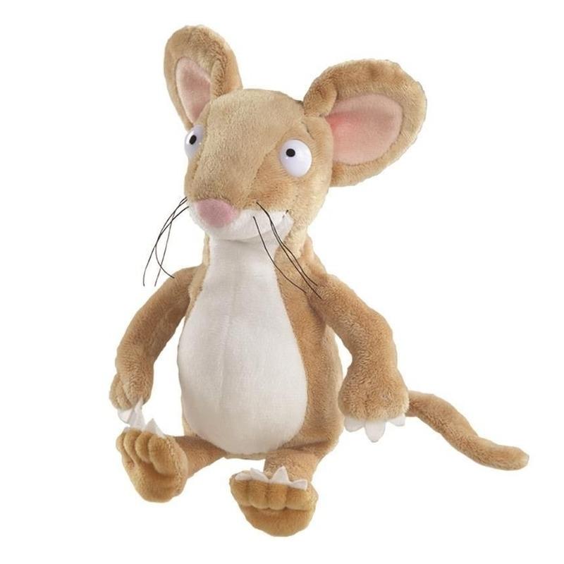 Bruine muizen knuffels 23 cm knuffeldieren