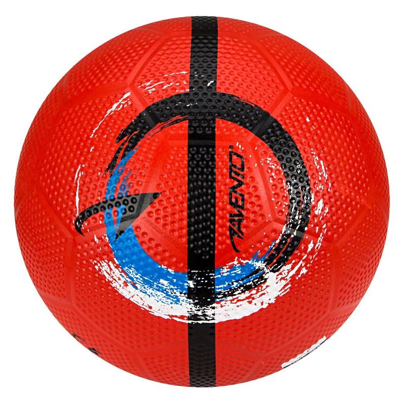 Buitenspeelgoed panna voetbal rood 21 cm-maat 5 voor kinderen-volwassenen