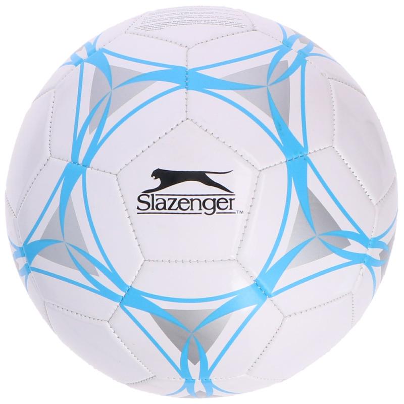 Buitenspeelgoed panna voetbal wit blauw grijs 21 cm-maat 5 voor kinderen-volwassenen