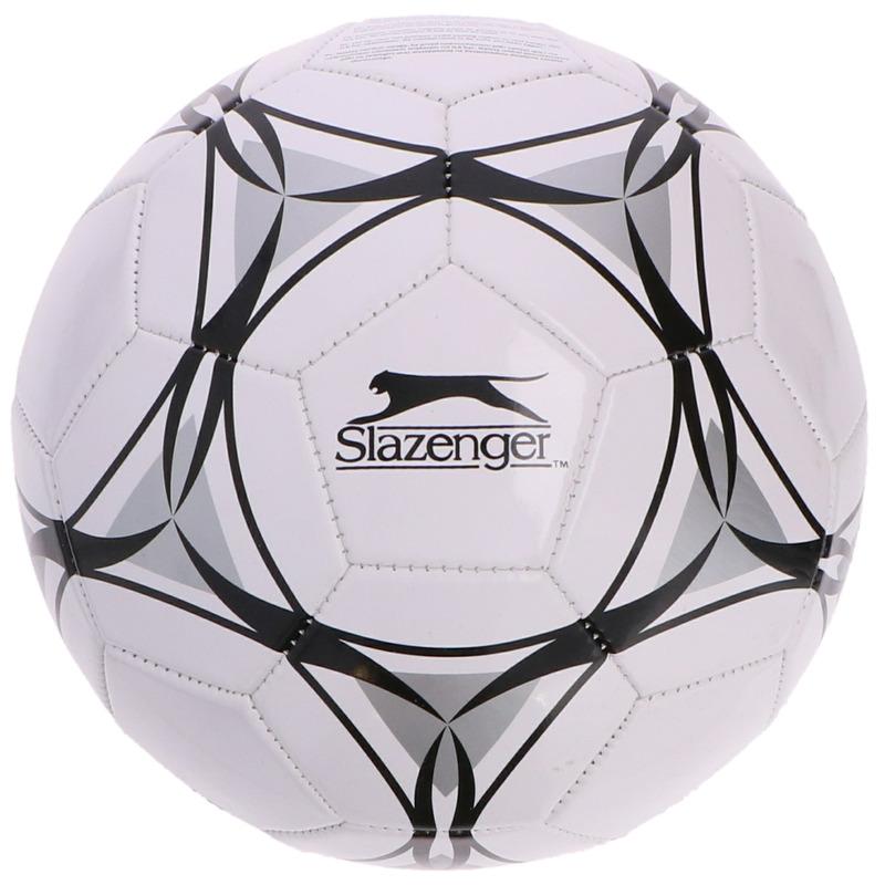 Buitenspeelgoed panna voetbal wit zwart grijs 21 cm-maat 5 voor kinderen-volwassenen