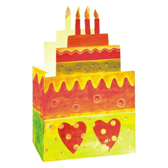 Feestartikelen diversen AlleKleurenShirts Candle Bags kinderfeestje 23 cm