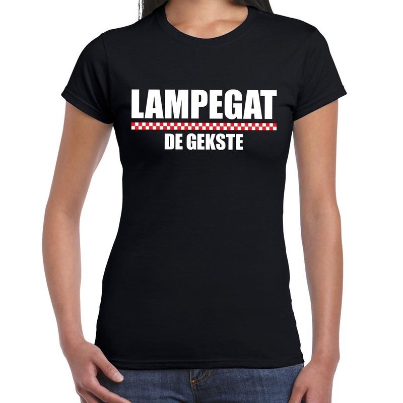 Carnaval Lampegat-Eindhoven de gekste t-shirt zwart voor dames