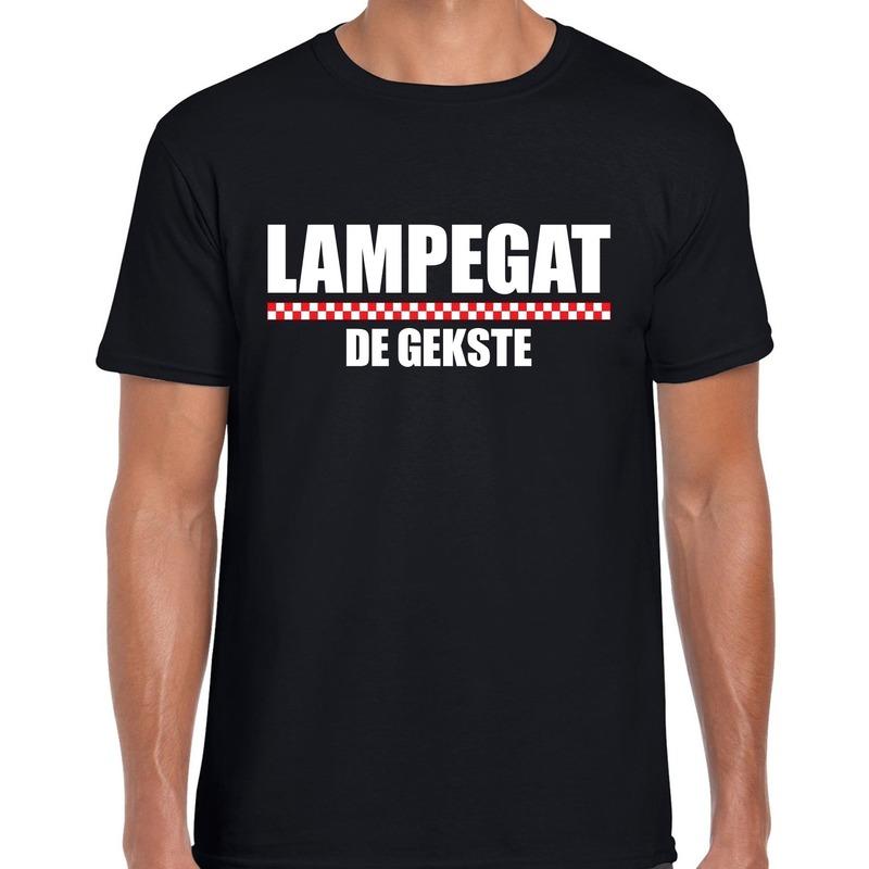 Carnaval Lampegat-Eindhoven de gekste t-shirt zwart voor heren