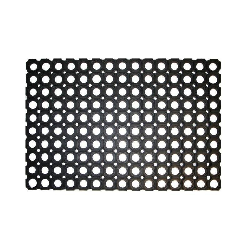 Deurmat-buitenmat rubber 60 x 40 cm