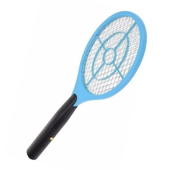 Elektrische vliegenmepper blauw