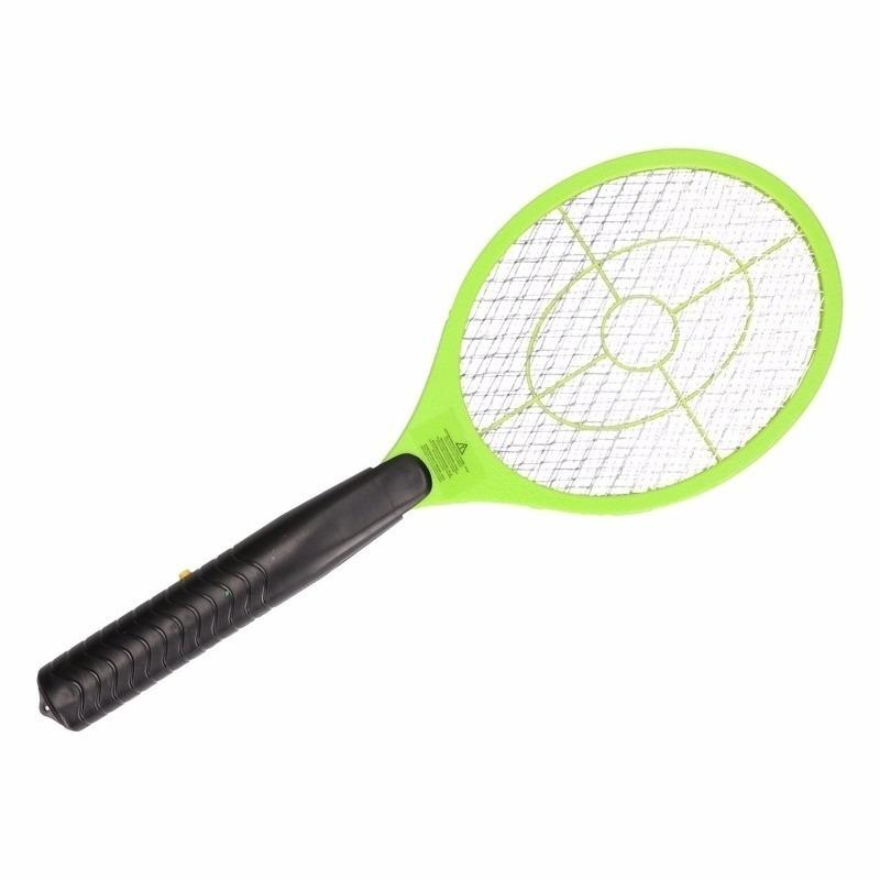 Elektrische vliegenmepper groen