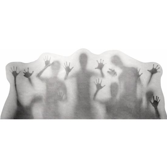 Geen Feest versiering horror raamstickers schimmen 35 x 78 cm Halloween feestartikelen