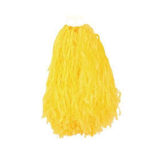 Gele cheerball 28 cm AlleKleurenShirts Feestartikelen diversen