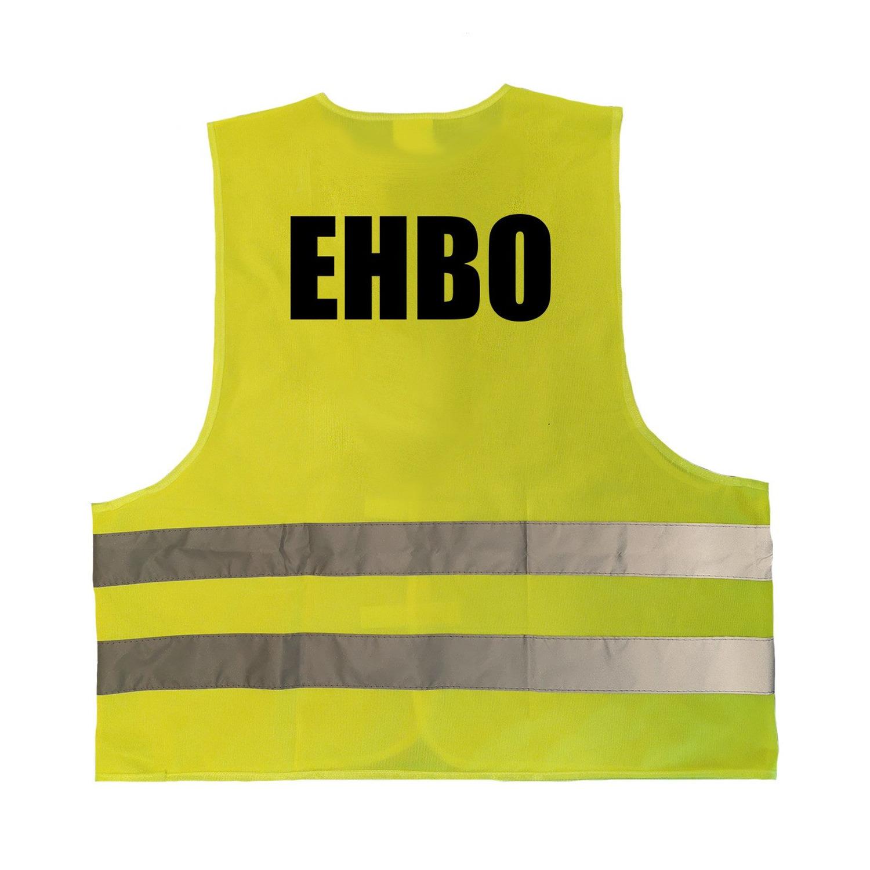 Gele veiligheidsvest EHBO hesje hulpverlening voor volwassenen