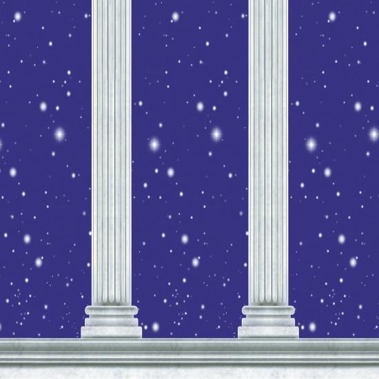 Feestartikelen diversen AlleKleurenShirts Griekse tempel scenesetter