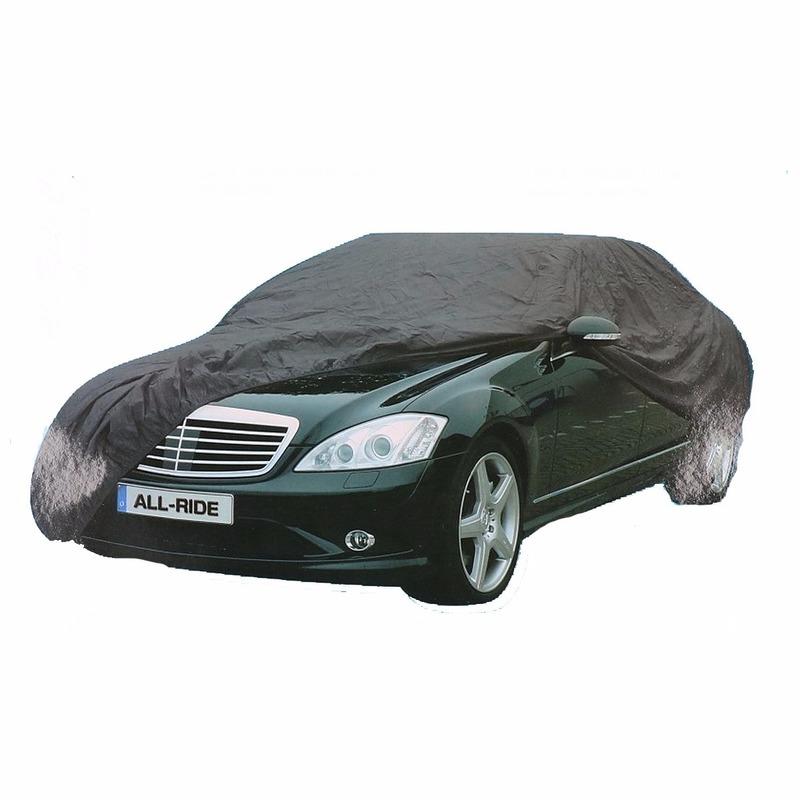 Grijze auto beschermingshoes 432x165x120 cm