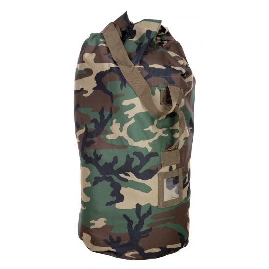 Grote plunjezak met camouflage print 90 cm AlleKleurenShirts beste