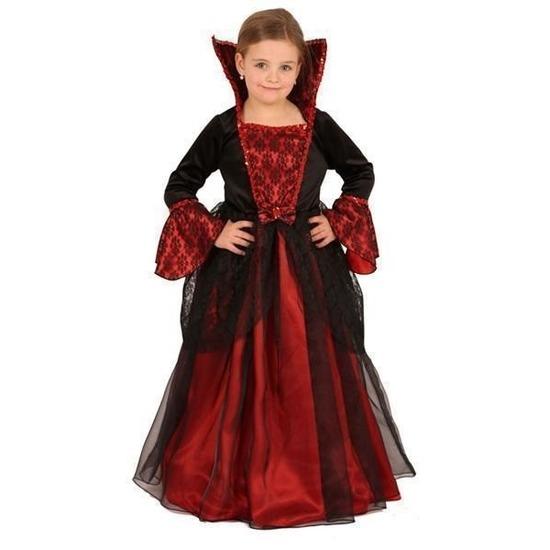 Halloween prinsessen jurk voor kinderen