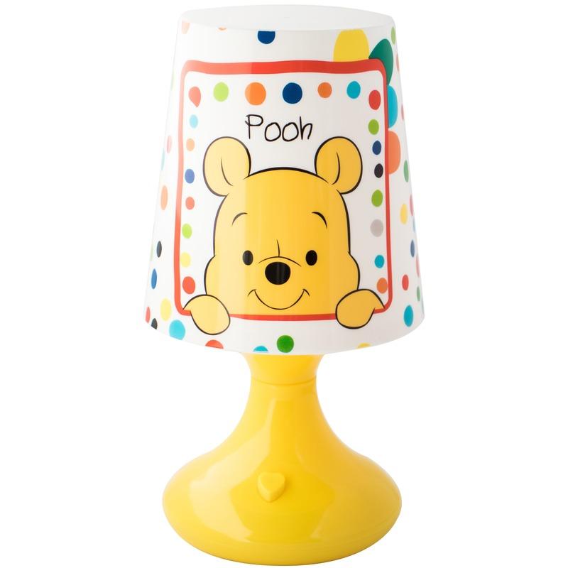 Kinderkamer-babykamer nachtlamp op batterijen Winnie de Poeh en Tijgetje voor jongens-meisjes