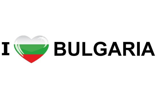 Landen sticker I Love Bulgaria Shoppartners gaafste producten