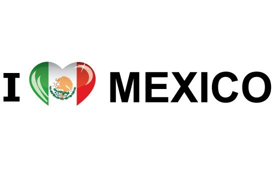Landen sticker I Love Mexico Shoppartners voordeligste prijs