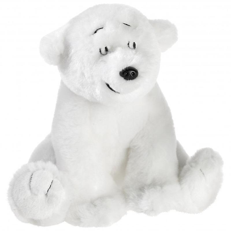 Lars de kleine ijsbeer knuffels 15 cm knuffeldieren