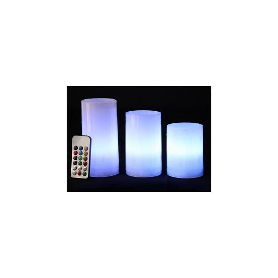 Geen LED kaarsen verlichting set 3 stuks Woonaccessoires