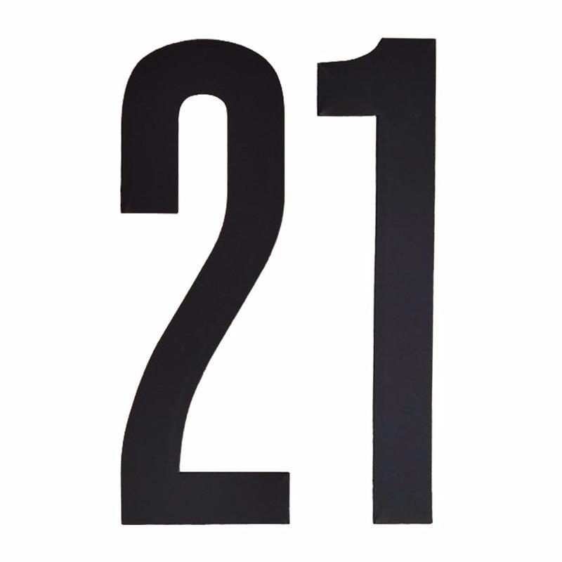Hobby Cijfers en letters Geen Leeftijd cijfer stickers 21 jaar