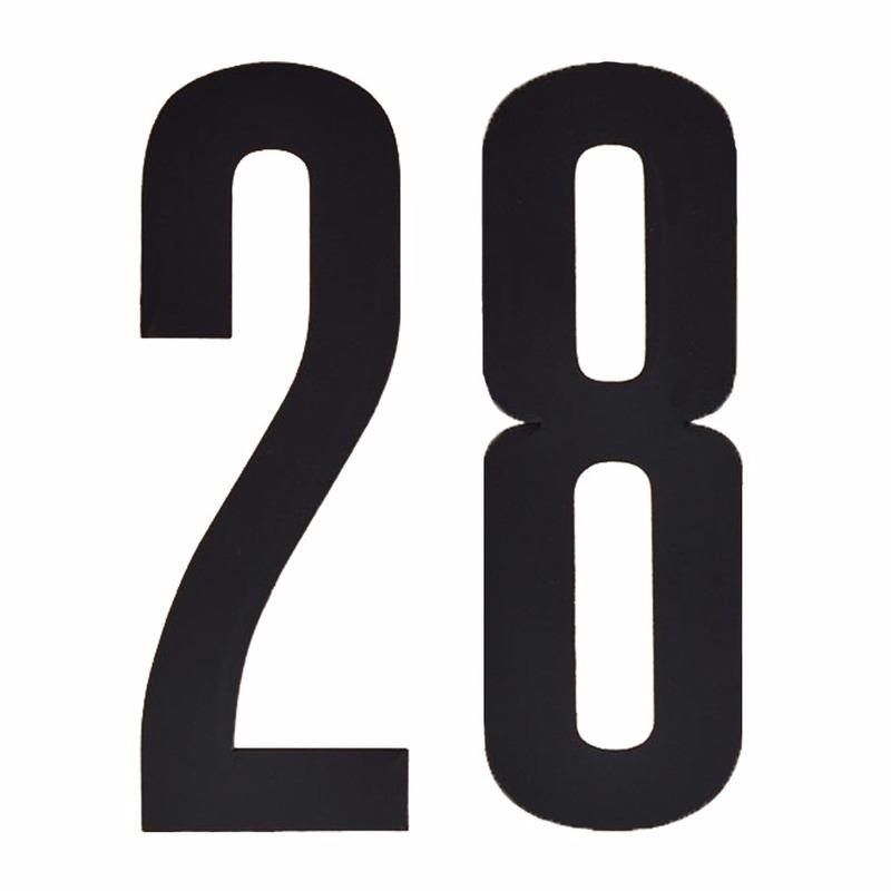 Hobby Cijfers en letters Geen Leeftijd cijfer stickers 28 jaar