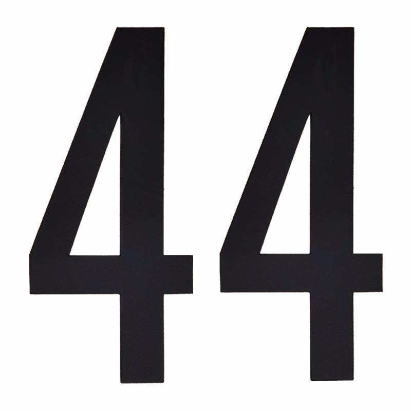 Geen Leeftijd cijfer stickers 44 jaar Hobby Cijfers en letters