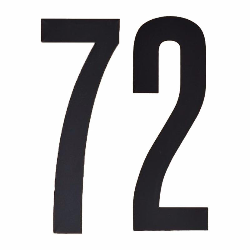 Promotie 6% Korting Leeftijd cijfer stickers 72 jaar