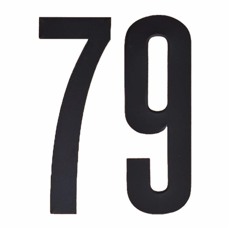 Hobby Cijfers en letters Geen Leeftijd cijfer stickers 79 jaar