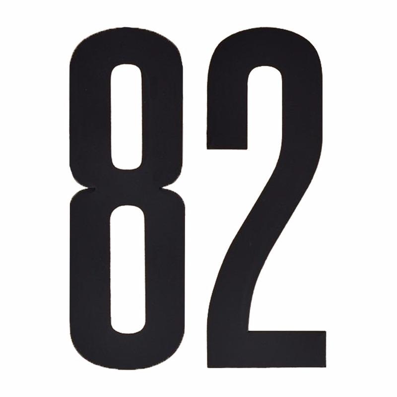 Geen Leeftijd cijfer stickers 82 jaar Hobby Cijfers en letters