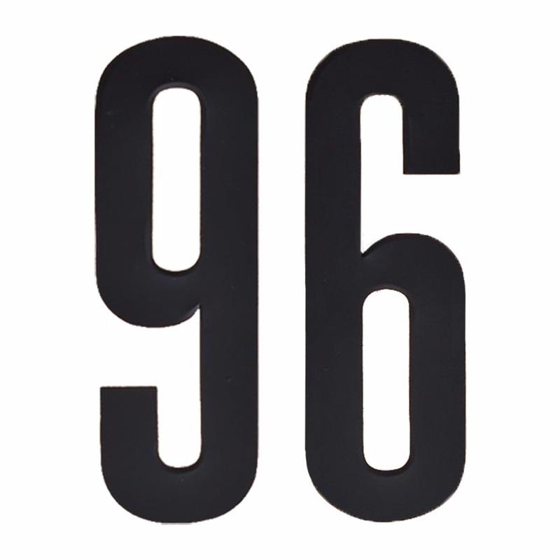 Geen Leeftijd cijfer stickers 96 jaar Hobby Cijfers en letters