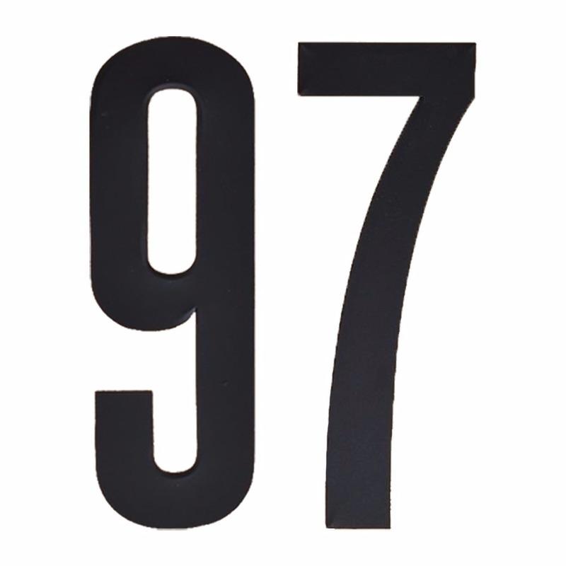 Leeftijd cijfer stickers 97 jaar Geen Hobby Cijfers en letters