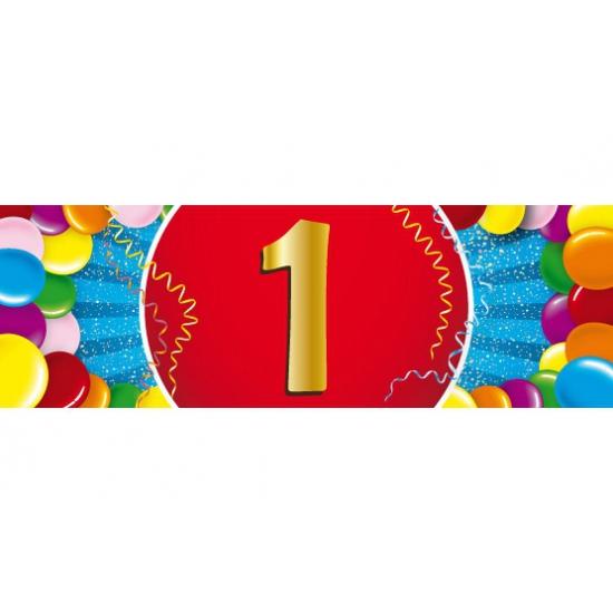 Leeftijd feestartikelen Shoppartners Leeftijd sticker 1 jaar