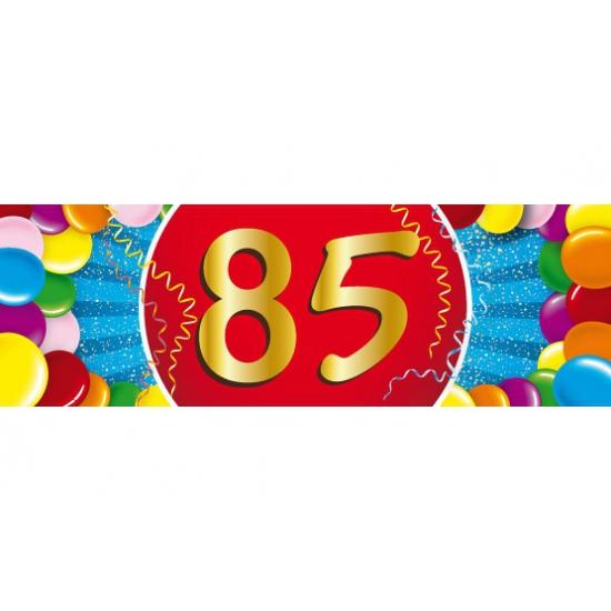 Leeftijd feestartikelen Leeftijd sticker 85 jaar