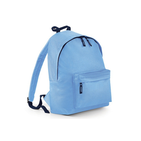 Tassen Bagbase Licht blauwe rugtas met voorvak