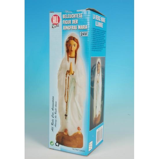 Kerst feestartikelen Geen Lichtgevend Maria beeld