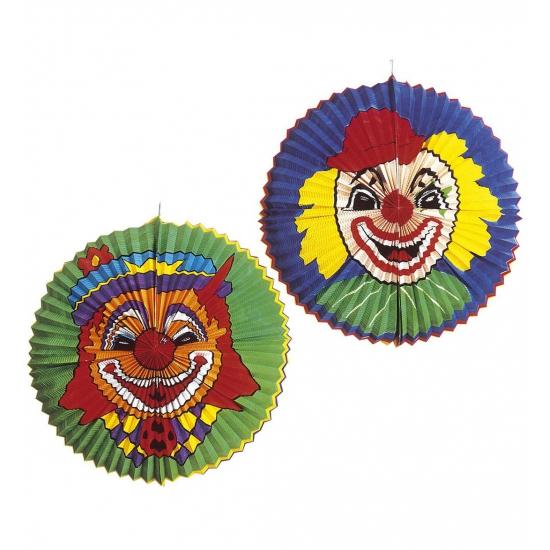 Mega lampion met clowns gezicht AlleKleurenShirts Schitterend