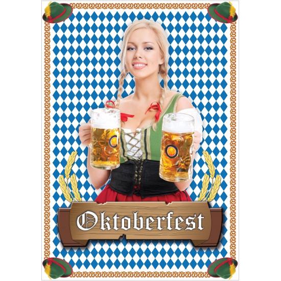 Mega poster Oktoberfest Shoppartners Thema feestartikelen