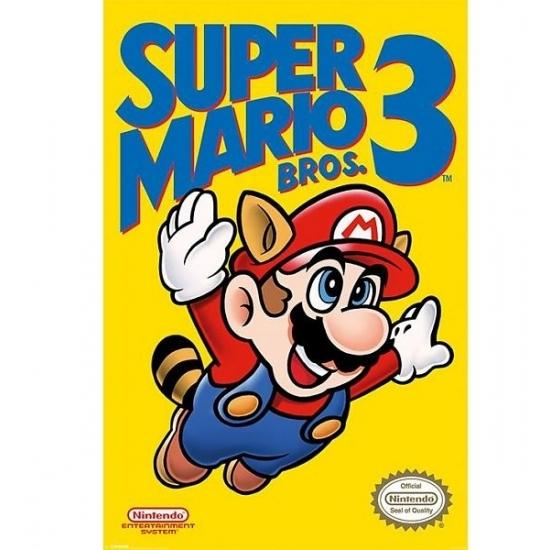 Nintendo Mario Bros kinder posters