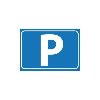 Feestartikelen diversen P symbool tekst stickers