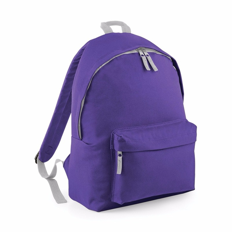 Tassen Bagbase Paars rugtas reistas met voorvak 14 liter voor kinderen