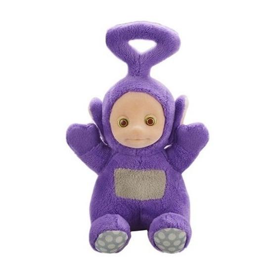 Paarse Teletubbie pratende pop Tinky Winky 20 cm