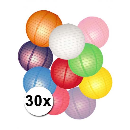 €4500000 Aanbieding AlleKleurenShirts Pakket met gekleurde lampionnen