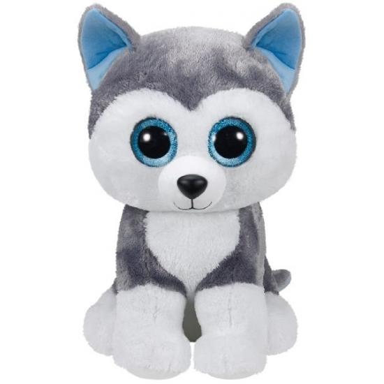 Pluche Beanie knuffel Husky