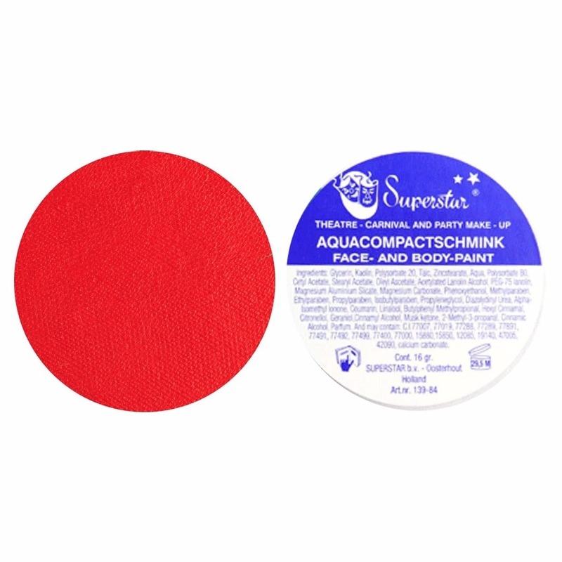 Rode huidstint schmink Superstar